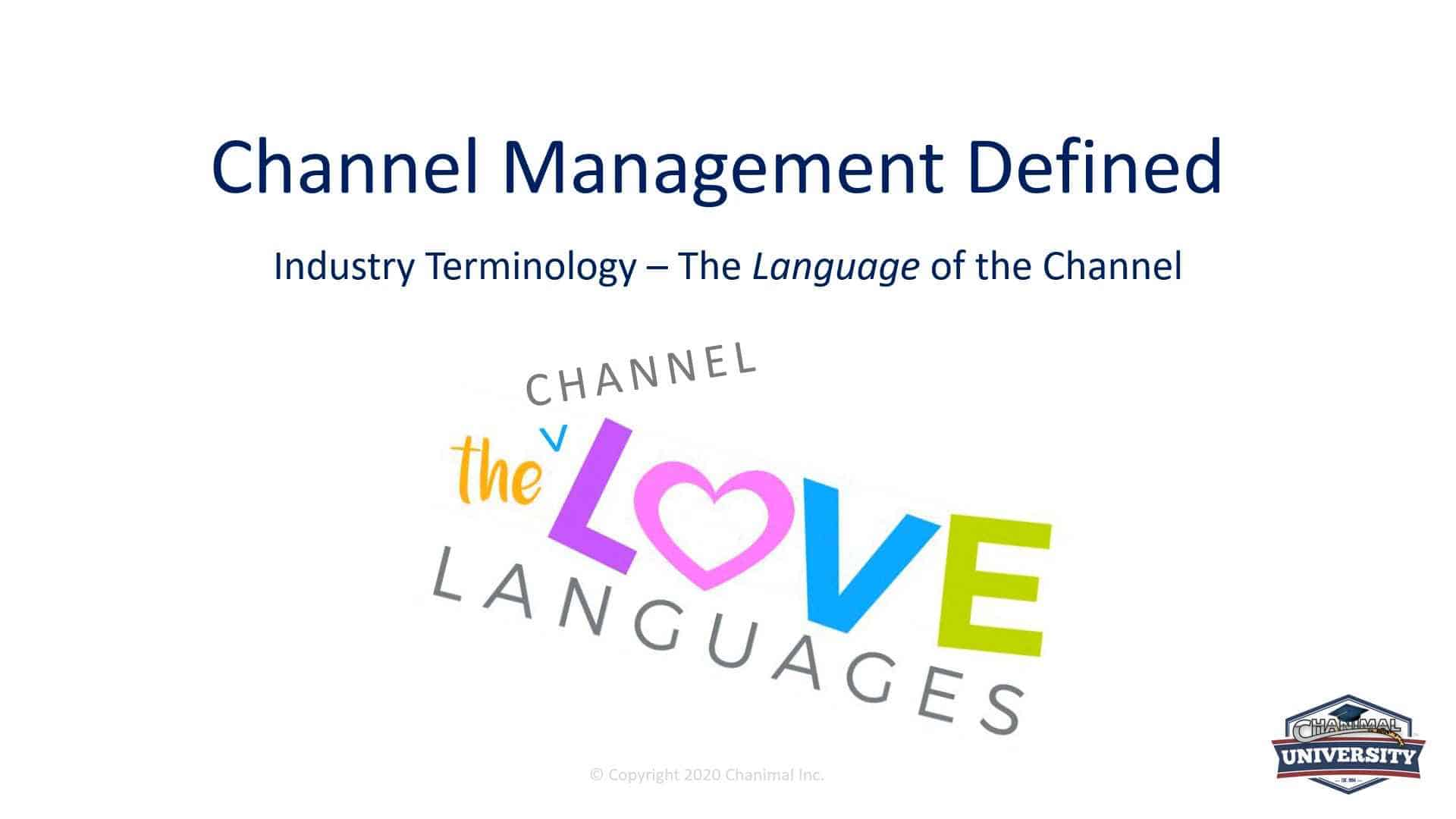 how to do channel sales - channel manager course