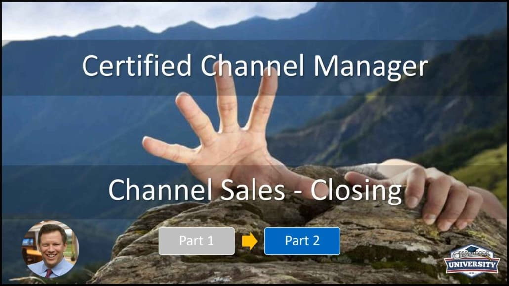 channel manager course - online review