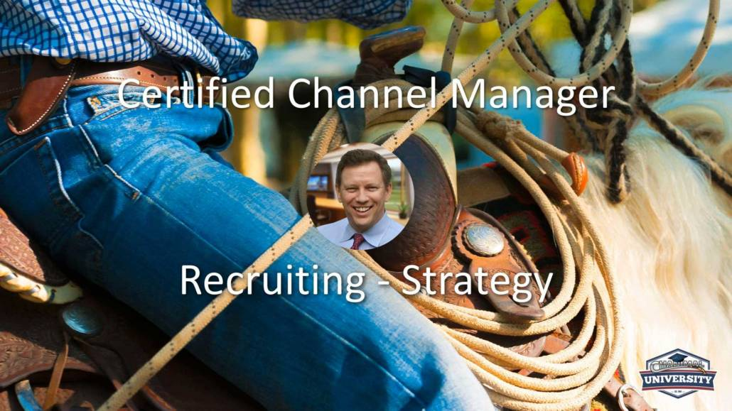 channel manager course
