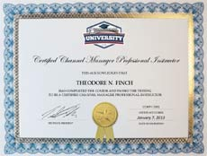 channel training & certification