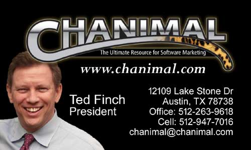 Ted Finch Business Card