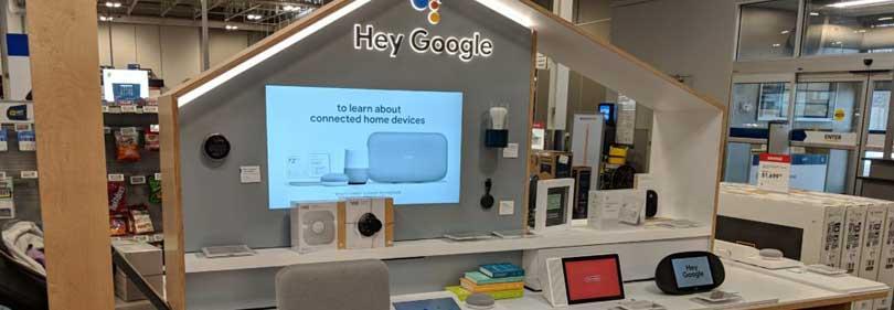 kiosk retail display